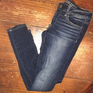 American eagle jeggings size 6 lightly worn